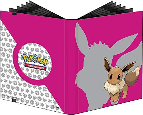Ultra Pro E-85994 Pokemon-9 Pocket Pro-Binder-Eevee 2019, Color Rosa