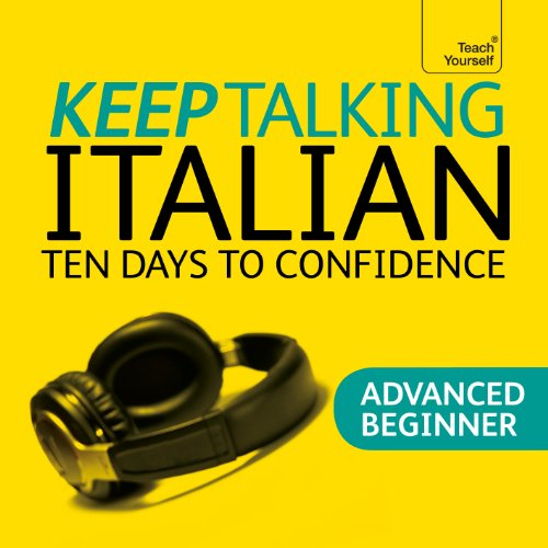 Keep Talking Italian audiobook cover art