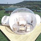Oaimmk Tienda de campaña de Burbujas inflables al Aire Libre de Interior Gazebo Carpa Familiar portátil de Camping Patio Transparente con Ventilador y El Kit De Reparación,3M