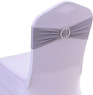 Lilac Satin Chair Sashes