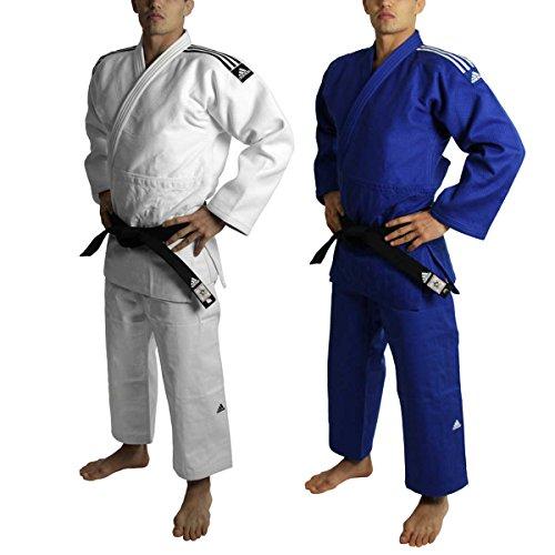 adidas JUDOGI J730 IJF CHAMPION II SLIMFIT CM 150 blu