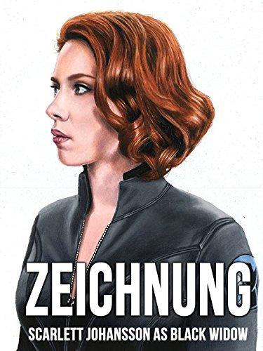 Clip: Zeichnung Scarlett Johansson as Black Widow
