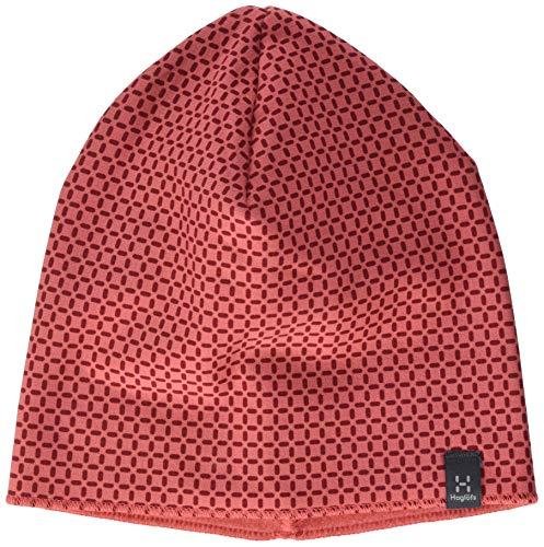 Haglöfs Herren Fanatic Print Baseballkappe, Rusty Pink/Brick Red, S/M