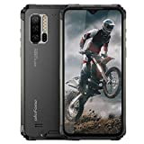 Ulefone Armor 7 (2021) Rugged Cell Phones Unlocked, 8GB+128GB Octa-Core Android 9.0 IP68 Waterproof Smartphone, 48MP Triple Rear Camera 6.3' FHD+ Screen 5500mAh Battery Dual SIM 4G LTE Rugged Phone