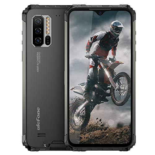 Ulefone Armor 7 Rugged Smartphone - Helio P90 Octa Core 8 GB RAM + 128 GB ROM, Fotocamera da 48 MP, FHD + Schermo 6.3'', Android 10 IP68 Telefono Cellulari Resistente, Ricarica Wireless Qi 10W, NFC
