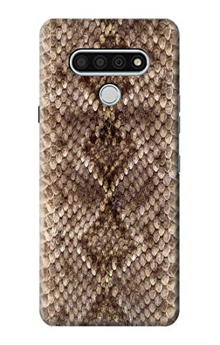 R2875 Rattle Snake Skin Graphic Printed Case Cover for LG Stylo 6