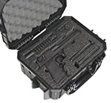 Case Club Desert Eagle Pre-Cut Waterproof Case with Storage for 4 Extra Magazines & 1 Extra Barrel