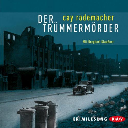 Der Trümmermörder audiobook cover art