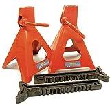 AB Tools-Toolzone 6 Ton Borriquetas Coche de Apoyo Gato 1 Par 6000kg TE147