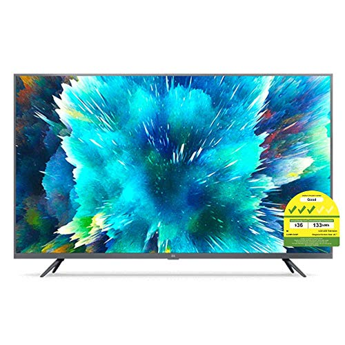 "Xiaomi Mi Smart TV 4S 43"" 4K LED, Tuner Triplo, Android TV 9.0, Telecomando con Microfono, Pulsante Video e Netflix"