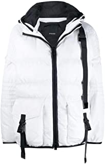Pinko Luxury Fashion Womens 1N12HCY64BZ05 White Down Jacket   Fall Winter 19
