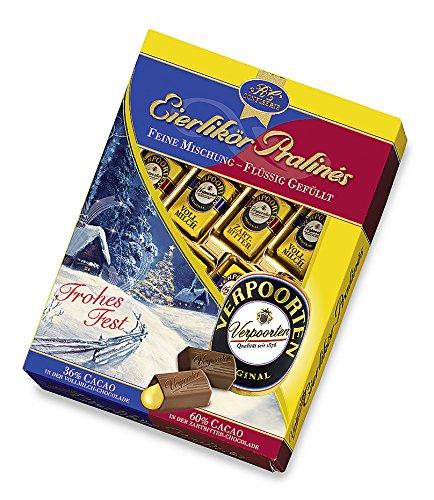 Verpoorten-Pralinés Eierlikör-Pralines Mischung in Weihnachtsfolie, 1er Pack (1 x 160 g)