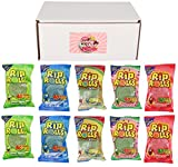 Rip Rolls Variety Pack of 5 Flavors (2 of each flavor, Total of 10)
