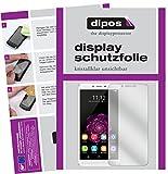 dipos I 2X Schutzfolie klar kompatibel mit Oukitel U15S Folie Bildschirmschutzfolie