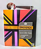 Twinings Classic Black Teas Collection. 40 bustine di tè con spremiagrumi in acciaio inox