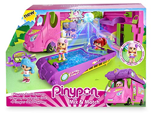 Pinypon- Cool Caravan Set de Juguete y...