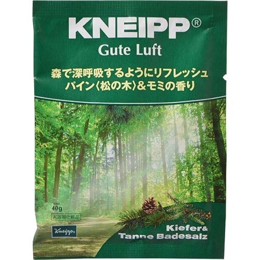 テープアラブ人受取人クナイプ?ジャパン クナイプ グーテルフト バスソルト パイン<松の木>&モミの香り 40g