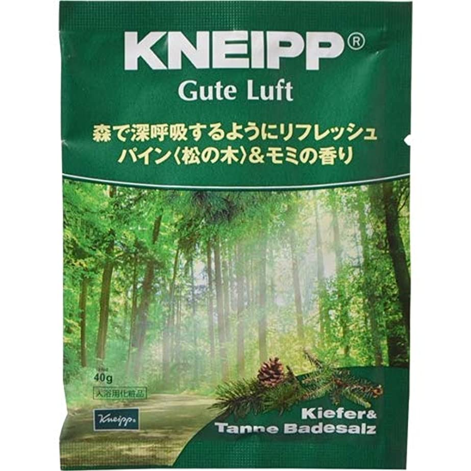 クナイプ?ジャパン クナイプ グーテルフト バスソルト パイン<松の木>&モミの香り 40g