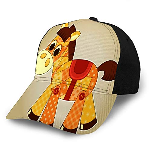 Baseball Cap Hats Snapback Application Horse Toy Cildren for Men Women Boys Gir