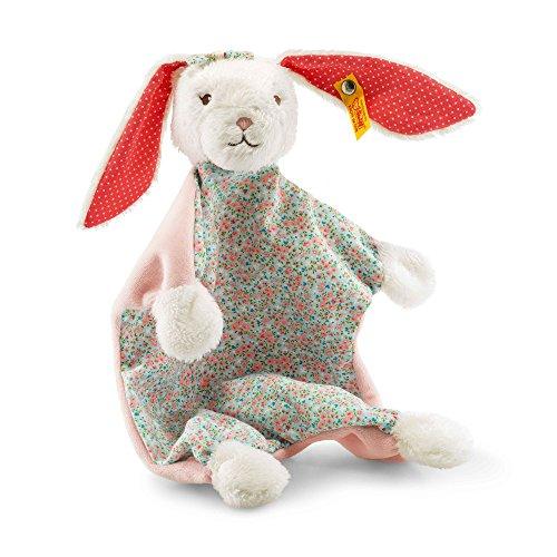 Steiff 241062 Blossom Hase Schmusetuch, mehrfarbig