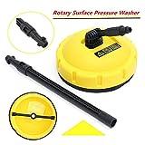 Sedensy Brosse rotative professionnelle à long manche pour nettoyeur haute pression Karcher K