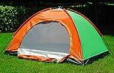 CPEX Fabric Portable Picnic Camping Tent for 4 Person(Multicolor)