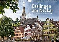 Esslingen am Neckar. Ein- und Ausblicke von Andreas Voigt (Wandkalender 2021 DIN A4 quer): Mittelalterlich gepraegte Altstadt (Monatskalender, 14 Seiten )