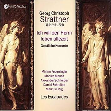 Strattner: Sacred Concertos