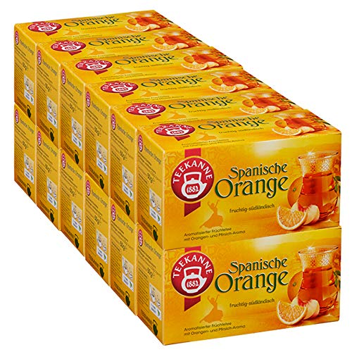 Teekanne Spanische Orange 12er Pack