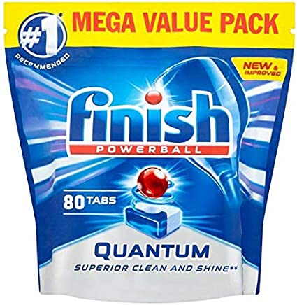 Finish Quantum Max Tablets Regular 80 per Pack