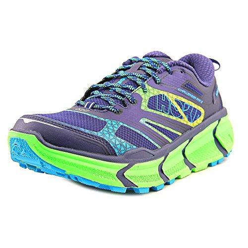 Hoka - Zapatillas para Correr EN Montaña para Hombre Astral Aura/Neon Green