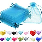 Time to Sparkle TtS 25/50/100 Pack Organza Gift Bags Wedding Party Favour Jewellery Packing Pouches