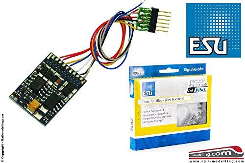 ESU 54612 LokPilot V4.0 Multiprotokolldecoder (MM / DCC / SX), mit 6-poligem Stecker nach NEM 651