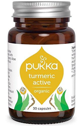 Pukka Organic Turmeric Active 30 Capsules (Pack of 3)