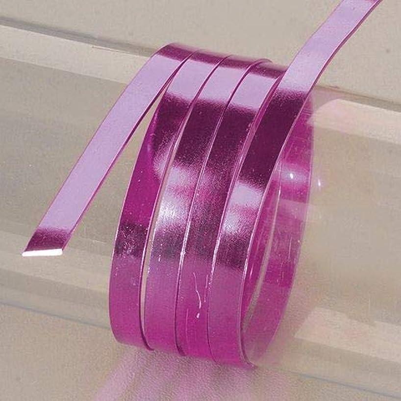EFCO 1 x 2 mm x 5 m Aluminium Anodised Flat Wire, Mauve