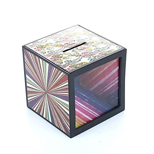 ZQION Hucha Juguete Flash Caja de Dinero Caja de Dinero mágica Moneda Desaparece Moneda Truco Niños Juguetes Niños Regalos Divertidos