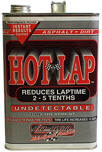 NEW PRO-BLEND PREMIUM HOT LAP UNDETECTABLE TIRE SOFTENER TREATMENT, 1 GALLON