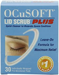 OCuSOFT Lid Scrub Plus, Pre-Moistened Pads, 30 Count (Pack of 3)