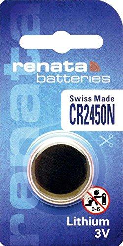iChoose Limited CR2450N Batteria Pulsante/Litio 3V/per Orologi, Torce, Chiavi della Macchina, Calcolatrici, Macchine Fotografiche, etc/iCHOOSE