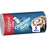 CINNAMON ROLLS: Pillsbury makes mornings special with quick place-and-bake cinnamon rolls. QUICK AND EASY: Easy-to-bake dough for fresh and warm cinnamon rolls ready in minutes. SIMPLE INGREDIENTS: No colors from artificial sources and no high fructo...