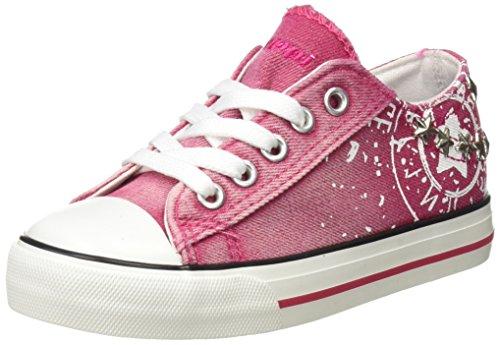 Beppi Canvas Shoe, Zapatillas de Deporte para Niñas, Rosa (