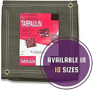 canvas tarpaulin sizes