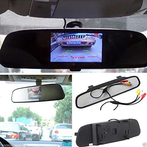 Dax 4.3 pollici invertendo l'automobile monitor per il sistema di imballaggio delle fotocamere back-up per auto, Telecamera da auto con 4.3' monitor per visione posteriore