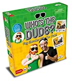 Identity Games Who's The Dude Charades Game - Use The Life Size Inflatable Dude to Act Out up to 440 Hilarious Scenarios - Ages 16+