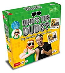 Who's the Dude charades is a hilarious game that features an inflatable life size Dude! The Dude is your best friend in this fun filled party game! Use the Dude to perform as many charades as you can within 45 seconds! Act out silly charades such as ...