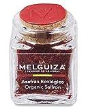 Azafrán español en hebras ecológico natural envase cristal 3 gr