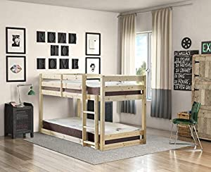 STRICTLY BEDS & BUNKS - Stockton Low Sleeper Bunk Bed, 3ft Single