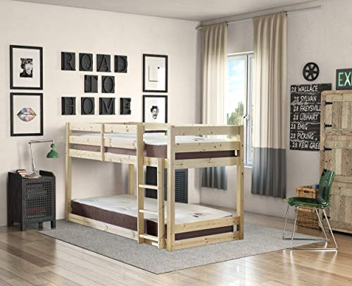 Strictly Beds and Bunks - Stockton Low Sleeper Bunk Bed, 3ft Singl