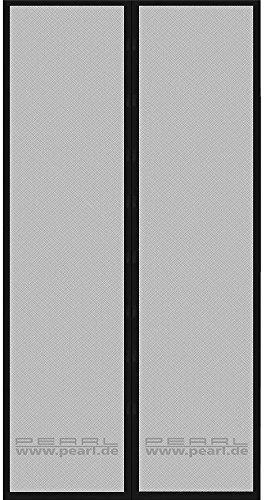 PEARL Fliegengitter Tür: Selbstschließendes Fliegennetz für Türen mit 82-86 cm Innenbreite (Fliegennetz Balkontür)