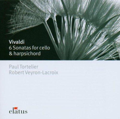 Vivaldi : 6 Cello Sonatas  -  Elatus